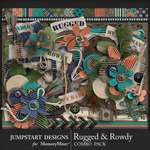 Rugged and Rowdy Combo Pack-$8.99 (Jumpstart Designs)