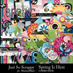 Spring Is Here Combo Pack-$4.99 (Just So Scrappy)