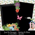 Spring Is Here QuickMix-$3.99 (Just So Scrappy)