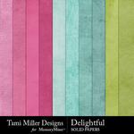 Delightful Solid Paper Pack-$2.99 (Tami Miller)