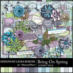 Bring on Spring Combo Pack-$8.99 (Laura Burger)