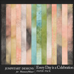 Every Day is a Celebration Blended Papers-$3.99 (Jumpstart Designs)