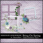 Bring on Spring Cluster Pack-$3.99 (Laura Burger)