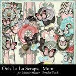 Mom OLL Page Border Pack-$1.40 (Ooh La La Scraps)