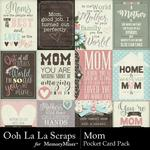 Mom OLL Pocket Cards Pack-$1.40 (Ooh La La Scraps)