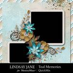 Teal Memories QuickMix-$4.99 (Lindsay Jane)