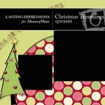 Christmas Trimmings QuickMix-$4.50 (Lasting Impressions)