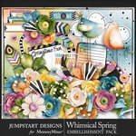 Whimsical Spring JSD Embellishments-$5.99 (Jumpstart Designs)