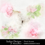 Floral ID Accents Pack-$2.99 (Indigo Designs)