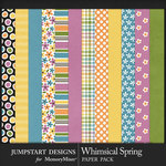 Whimsical Spring JSD Paper Pack-$3.99 (Jumpstart Designs)