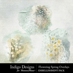 Flowering Spring Overlay Pack-$2.99 (Indigo Designs)