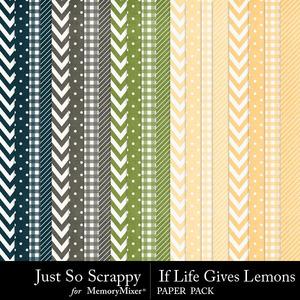 Life lemons patt pp medium