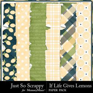 Life lemons worn papers medium