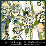 If Life Gives You Lemons Page Borders-$1.99 (Just So Scrappy)