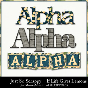 Life lemons alphabets medium