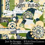 If Life Gives You Lemons Combo Pack-$3.49 (Just So Scrappy)