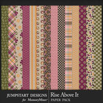 Rise Above It Pattern Paper Pack-$3.99 (Jumpstart Designs)