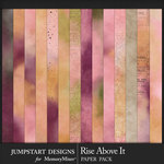 Rise Above It Blended Paper Pack-$3.99 (Jumpstart Designs)