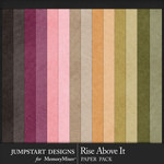 Rise Above It Basic Paper Pack-$3.99 (Jumpstart Designs)