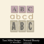 Natural Beauty Alpha Pack-$3.99 (Tami Miller)