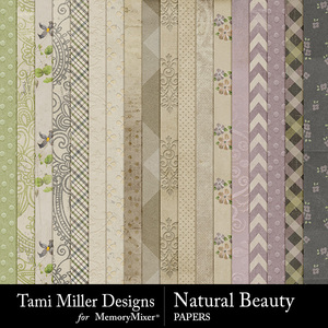 Natural beauty papers medium