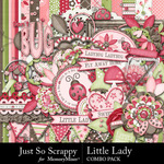 Little Lady Combo Pack-$4.99 (Just So Scrappy)