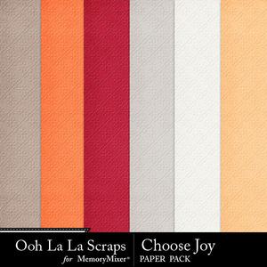 Choose joy embossed medium