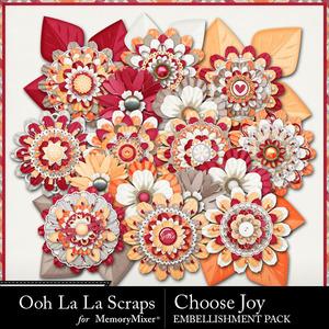Choose joy flowers medium