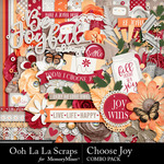 Choose Joy Combo Pack-$4.99 (Ooh La La Scraps)