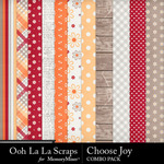 Choose joy kit papers small