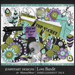Love Bandit Add On Pack-$3.99 (Jumpstart Designs)