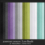Love Bandit Basic Paper Pack-$3.99 (Jumpstart Designs)