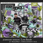 Love Bandit Embellishment Pack-$4.99 (Jumpstart Designs)
