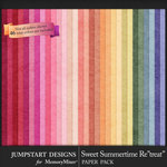 Sweet Summertime Retreat Basic Papers-$3.99 (Jumpstart Designs)