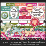 Sweet Summertime Retreat Spare Parts-$3.99 (Jumpstart Designs)