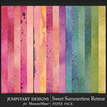 Sweet Summertime Retreat Blended Papers-$3.99 (Jumpstart Designs)