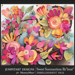 Sweet Summertime Retreat Blooms Pack-$4.99 (Jumpstart Designs)