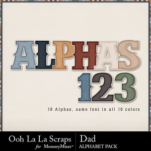 Dad extra alphabets medium
