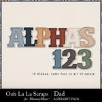 Dad extra alphabets small