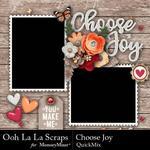 Choose Joy QuickMix-$2.80 (Ooh La La Scraps)