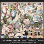 Sweet Childhood Dreams Embellishments-$4.99 (Jumpstart Designs)