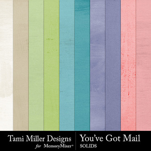 You've got mail solids medium