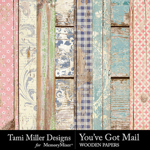 You've got mail wooden papers medium