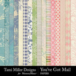You've Got Mail Paper Pack-$3.99 (Tami Miller)