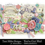 You've Got Mail Embellishment Pack-$3.99 (Tami Miller)