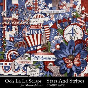 Stars and stripes kit medium