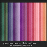 Labor of Love Solid Paper Pack-$3.99 (Jumpstart Designs)