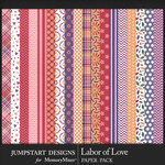 Labor of Love Patterned Paper Pack-$3.99 (Jumpstart Designs)