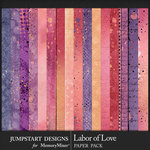 Labor of Love Blended Paper Pack-$3.99 (Jumpstart Designs)