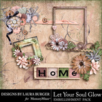 Let Your Soul Glow Cluster Pack-$4.99 (Laura Burger)